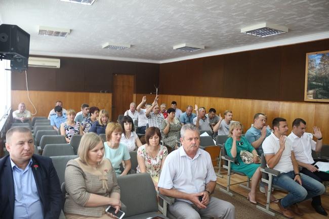 В Красноперекопском городском совете состоялась очередная 77 сессия городского совета 1 созыва